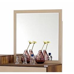 Alpino Kare Yatak Odası Şifonyer Aynası - Barok / Cappuccino