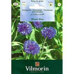 Vilmorin Mavi Kantaron Peygamber Çiçeği Tohumu