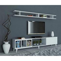 House Line Alex Tv Ünitesi - Beyaz