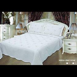 Evlen (AKC13D-011) Tek Kişilik Nakışlı Yatak Örtüsü