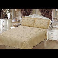Evlen (AKC13E-010) Tek Kişilik Nakışlı Yatak Örtüsü