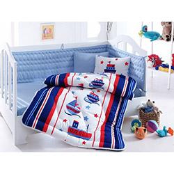 Cotton Box Denizci Bebek Uyku Seti - Mavi