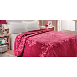 Mink 621 Premium Çift Kişilik Battaniye - Kırmızı