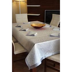 Evlen 9 Parça Leke Tutmaz Masa Örtüsü - Gümüş