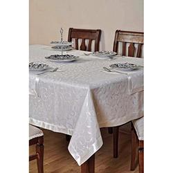 Evlen 9 Parça Leke Tutmaz Masa Örtüsü - Krem