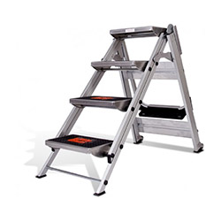 Little Giant Safety Step 4 Basamaklı Merdiven
