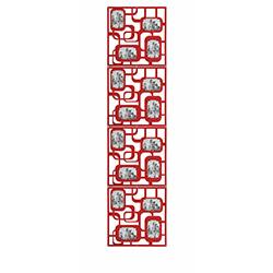 Secret 16'lı Seperatör Dikdörtgen Çerçeve - Kırmızı