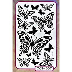 Secret Büyük Kelebek 3D Sticker - 120x140 cm