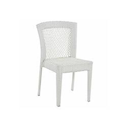 Petra Rattan Sandalye - Beyaz