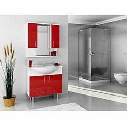 Bestline Vira 80 Banyo Dolabı – Kırmızı