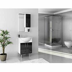 Vira 55 Banyo Dolabı Siyah
