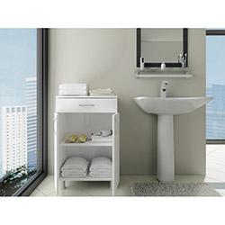 Açelya 1 Çekmece 2 Kapaklı Banyo Dolabı - 0101
