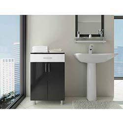Açelya 1 Çekmece 2 Kapaklı Banyo Dolabı - 0105
