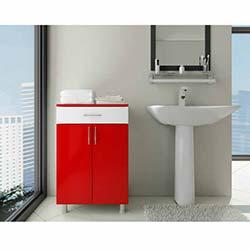 Açelya 1 Çekmece 2 Kapaklı Banyo Dolabı - 0109