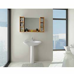 Hercai Lavabo Üstü Açık Banyo Dolabı -  0147