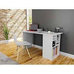 Akasya Çalışma Masası - Beyaz