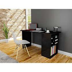 Akasya Çalışma Masası - Siyah