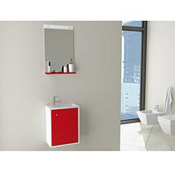 City 40 Banyo Dolabı - Kırmızı