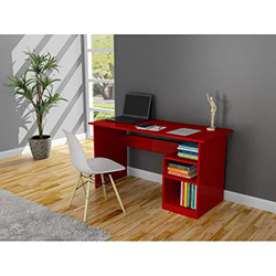 Bahar Çalışma Masası - Kırmızı