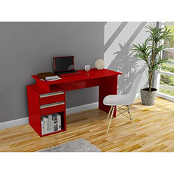 Fesleğen Çalışma Masası - Kırmızı
