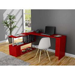 Fonksiyonel Gelincik Çalışma Masası - Kırmızı