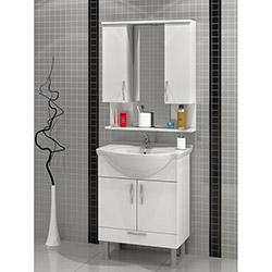 Comfy Home AU-4030 Banyo Dolabı - Beyaz