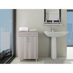 Bestline Açelya 1 Çekmece 2 Kapaklı Banyo Dolabı - Cordoba