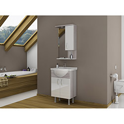 Bestline Vira 55 Banyo Dolabı - Cordoba / Beyaz