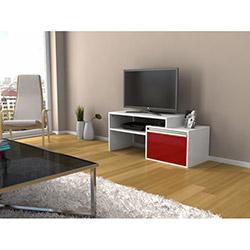 Bestline Torino Tv Sehpası - Kırmızı / Beyaz