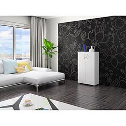 Luxxe Home Arzu 3 Raflı Çok Amaçlı Dolap - Beyaz