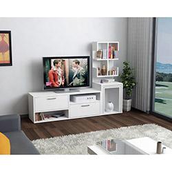 House Line Zigon Sehpalı Tv Ünitesi - Beyaz