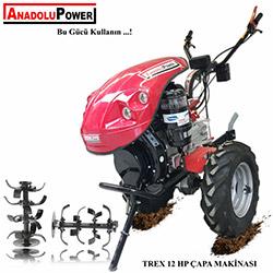 AnadoluPower Trex12 Dizel Çapa Makinesi - 12 HP