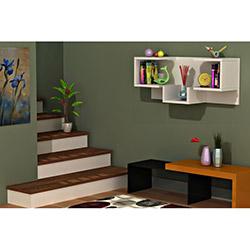 Comfy Home U2 Duvar Rafı - Beyaz
