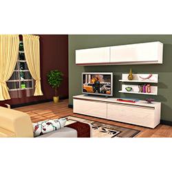 Comfy Home Ilgın Samanyolu Tv Ünitesi - Beyaz