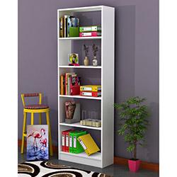 Comfy Home Işık Maxi 5 Raflı Kitaplık - Beyaz
