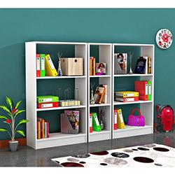 Comfy Home Begonya Kitaplık Takımı - Beyaz