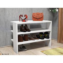 Minar Mix Ayakkabılık (45 cm) - Beyaz