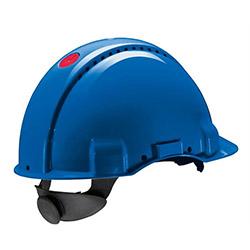 3M G 3000 NUVI Enseden Ayarlı Vidalı UV'li Havalandırmalı Mavi Baret