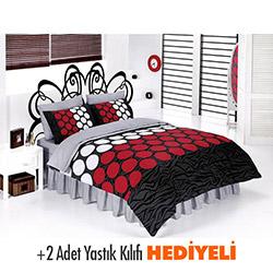 Belenay Ekol Kırmızı Çift Kişilik Uyku Seti