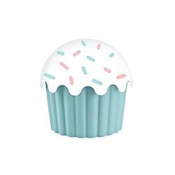 Aroni Plastik Cupe Cake Saklama Kabı (Mavi) - 550 ml.
