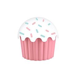 Aroni Plastik Cupe Cake Saklama Kabı (Pembe) - 550 ml.