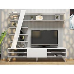 House Line Canvas Tv Ünitesi - Beyaz