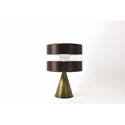 Crea Lighting/Zebra Abajur - Kahverengi