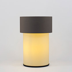 Crea Lighting/Doubleshade Cotton Abajur - Kahve