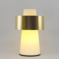 Crea Lighting/Doubleshade Pvc Konik Abajur - Gold