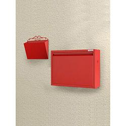 Pappuchbox Metal Ayakkabılık - Kırmızı