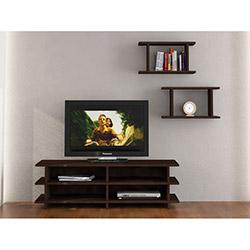 Matte Merro Tv Sehpası ve Duvar Modulü - Venge