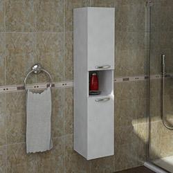Arnetti Gediz Çok Amaçlı Banyo Boy Dolabı - Beyaz