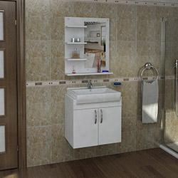 Arnetti Meriç Banyo Dolabı Seti (60 cm) - Beyaz