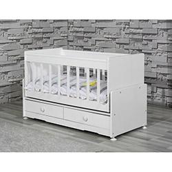 Banana Baby Kids SWE-101 Eko 2 Çekmeceli Beşik - Beyaz
